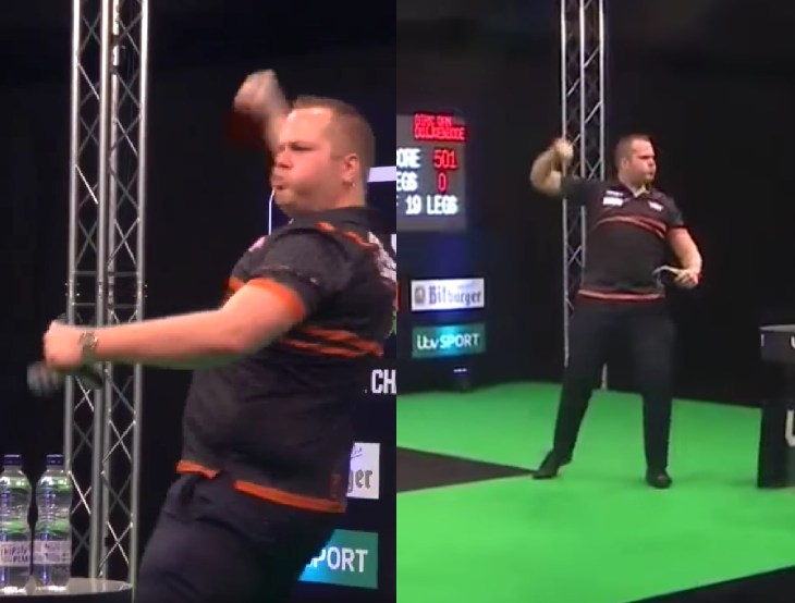 VIDEO: Van Duijvenbode's Hardstyle Walk On At European Championship
