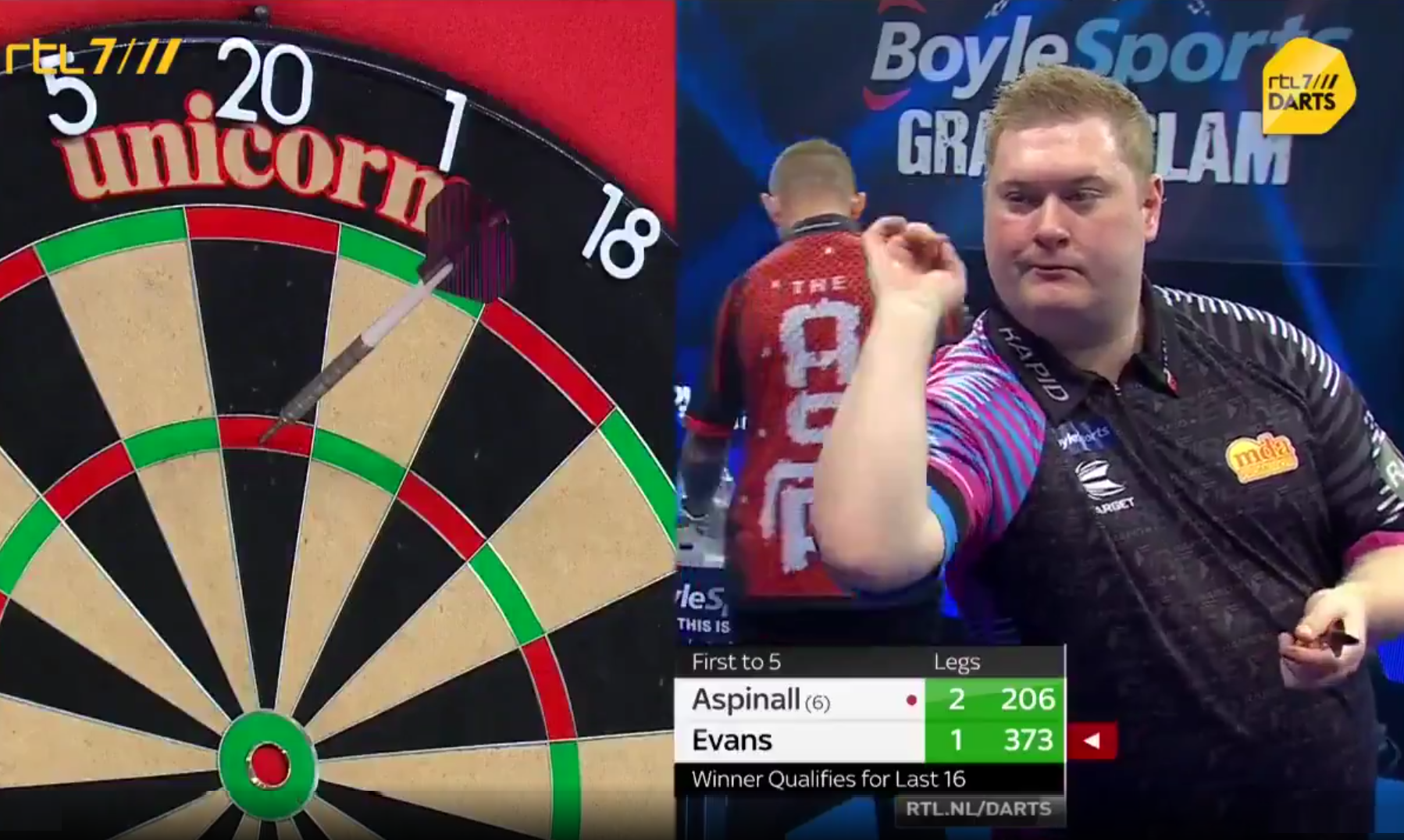 VIDEO: Ricky Evans' Brilliant Response With VERY Fast 180