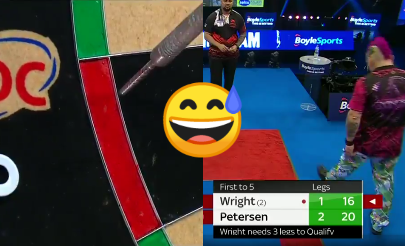 VIDEO: Awkward Moment When Peter Wright Thought Double Was In TWICE