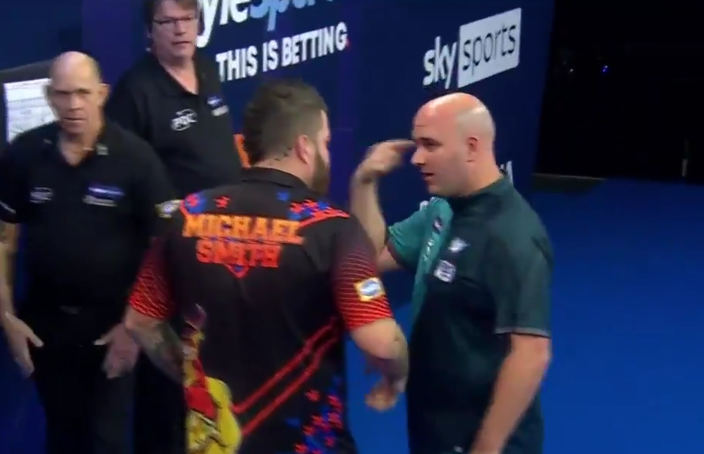 VIDEO: The Moment Which Got Rob Cross Confused And Throw CRAZY