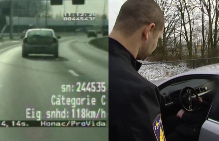 VIDEO: Michael van Gerwen Caught By Police At Dutch Highway