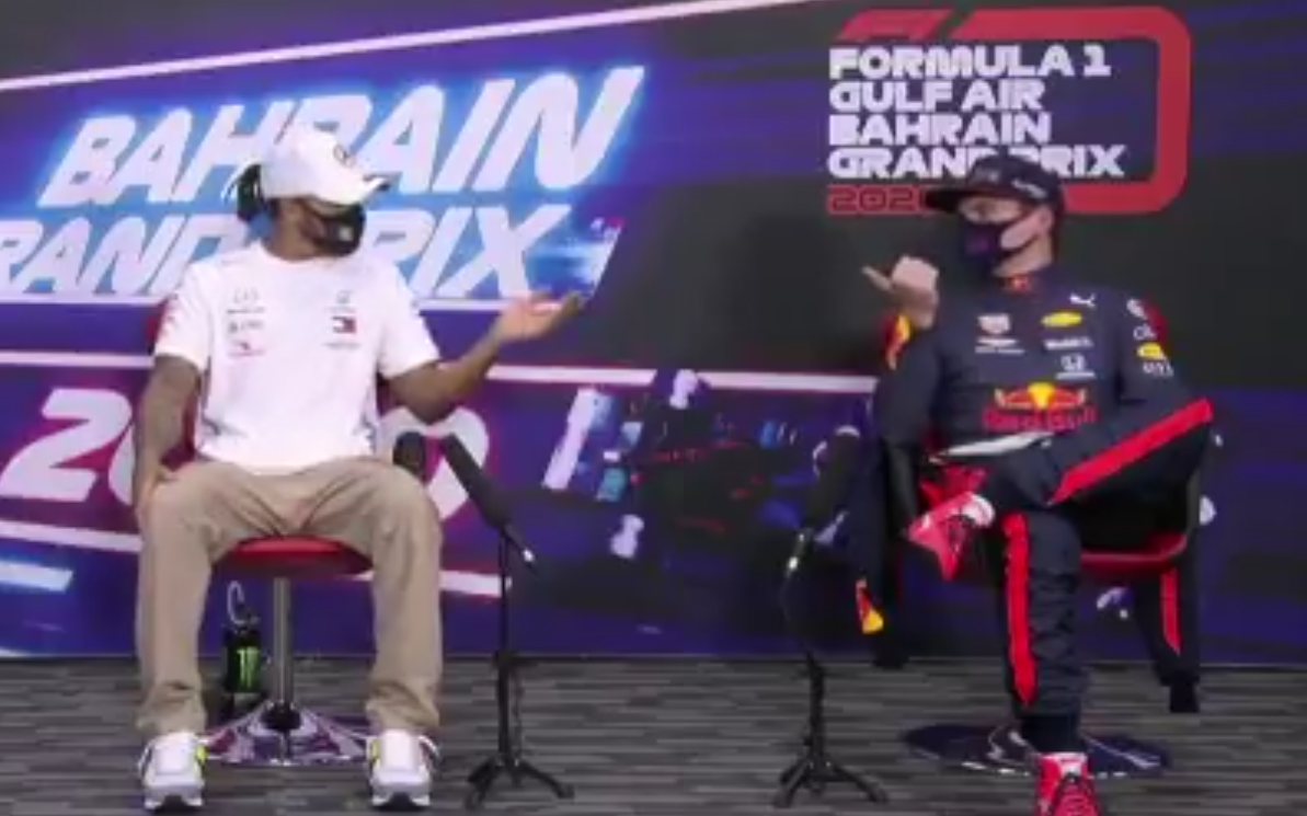 VIDEO: Verstappen's Banter Moment With Hamilton During Press Conference