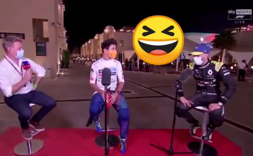VIDEO: Funny Moment Between Lando & Ricciardo About Next Season