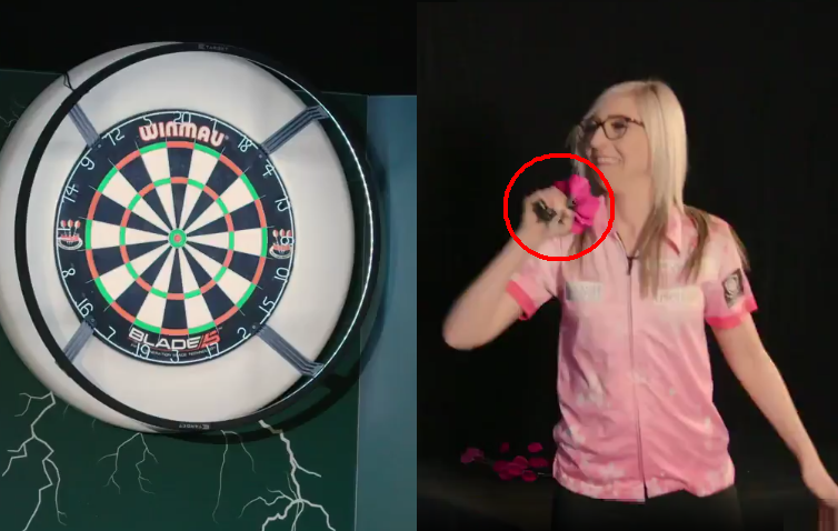 Fallon Sherrock Throws 15 Darts At Once In Paddy Power Challenge