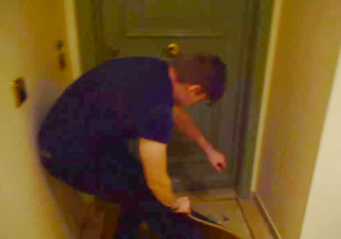 VIDEO: Drunk Max Verstappen Trying To Enter His Home in Monaco 😅