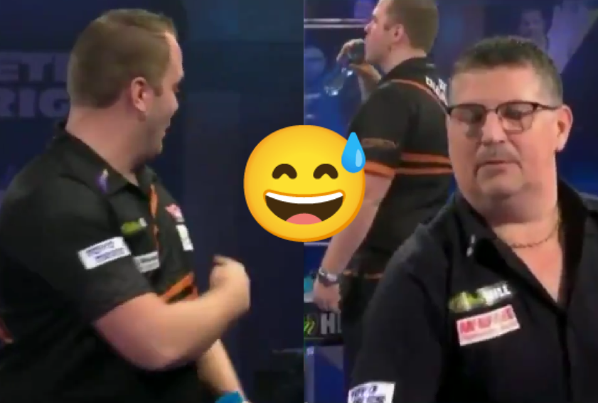VIDEO: Van Duijvenbode Joking About Anderson's Table And Stealing Drink