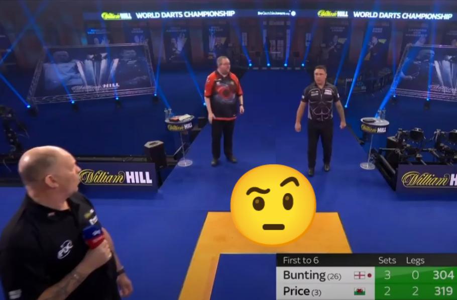 VIDEO: Moment Between Stephen Bunting & Gerwyn Price In Semi Final
