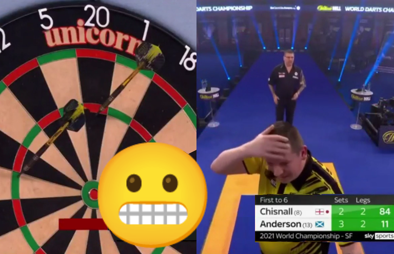 VIDEO: Dave Chisnall Turned 84 Checkout Into Awkward No-Score