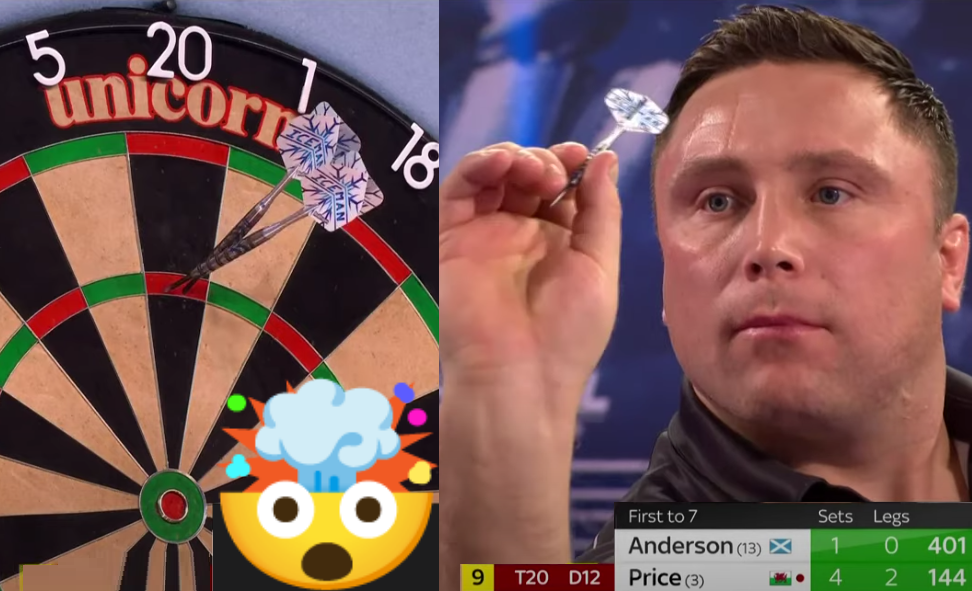 VIDEO: Gerwyn Price Hits World Record Set Average With 136.64