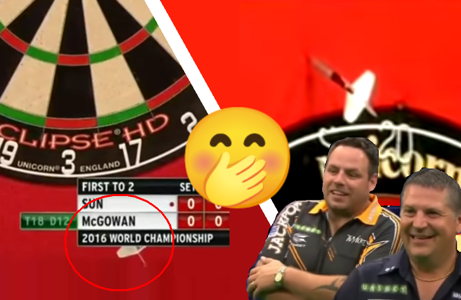 Top 10 Moments When Dart Players Missed The Dartboard