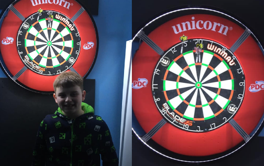 Baily Harper Becomes Youngest Ever To Hit A 9-Darter At 11 Years Old