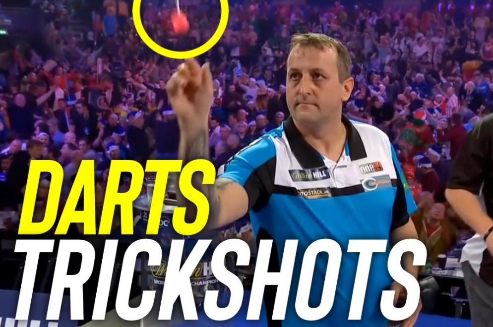VIDEO: Watch Bizarre Trickshots We Have Seen In Darts