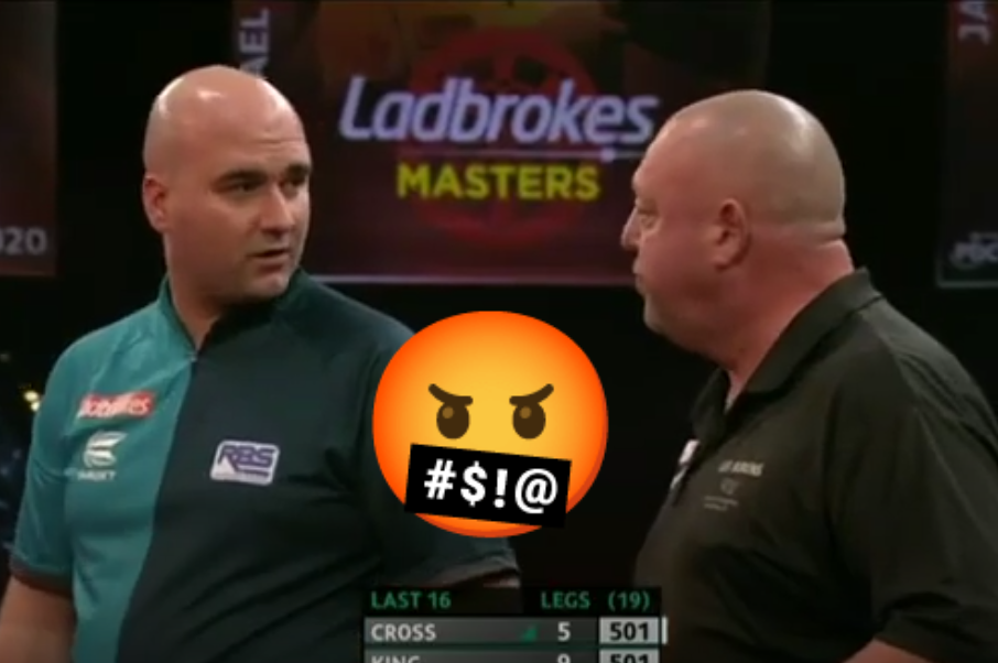 VIDEO: Mervyn King Angry With Rob Cross After Cheating Incident