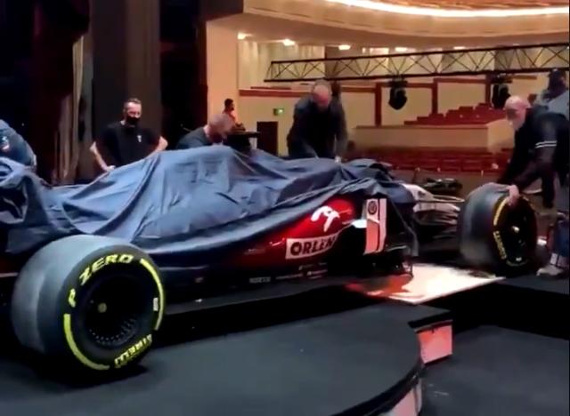 Watch Alfa Romeo Revealing Their 2021 Formula 1 Car