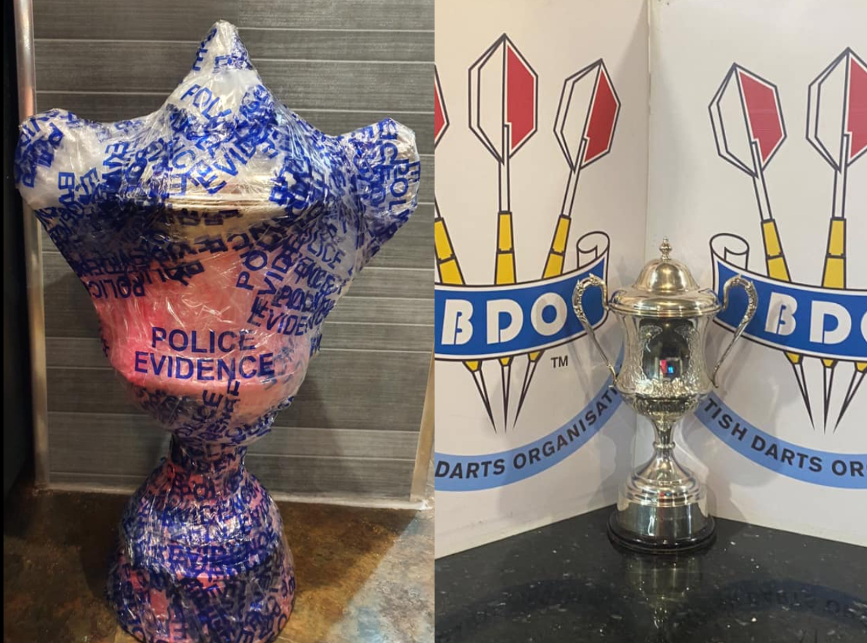 BDO Chairman Send Police To Wayne Warren And Took His Throphy