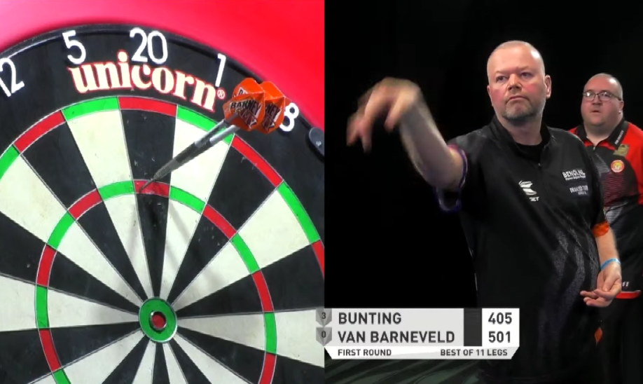 Watch Raymond van Barneveld's Comeback Match Against Stephen Bunting