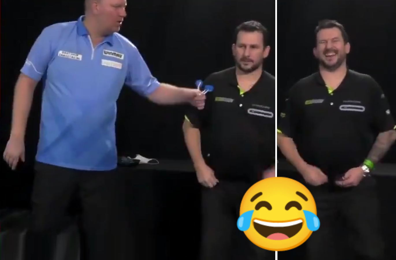 VIDEO: Jonny Clayton's Funny Moment During Semi Final Super Series