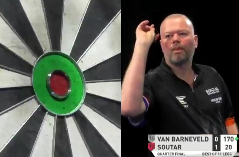 VIDEO: Van Barneveld Hits 170 Checkout On Way To Semi Final
