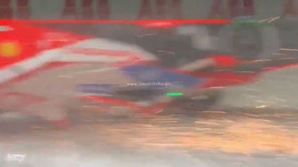 VIDEO: Alex Lynn Massive Upside Down Crash During Diriyah E-Prix