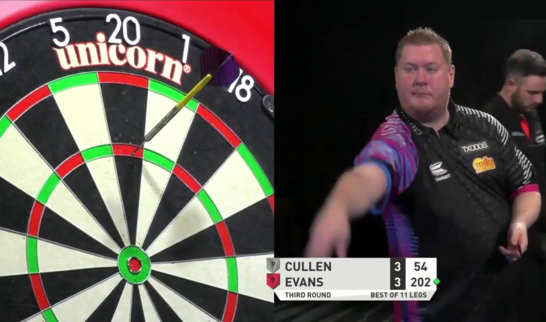 VIDEO: Ricky Evans Hits 180 In 2.5 Seconds At PDC Super Series