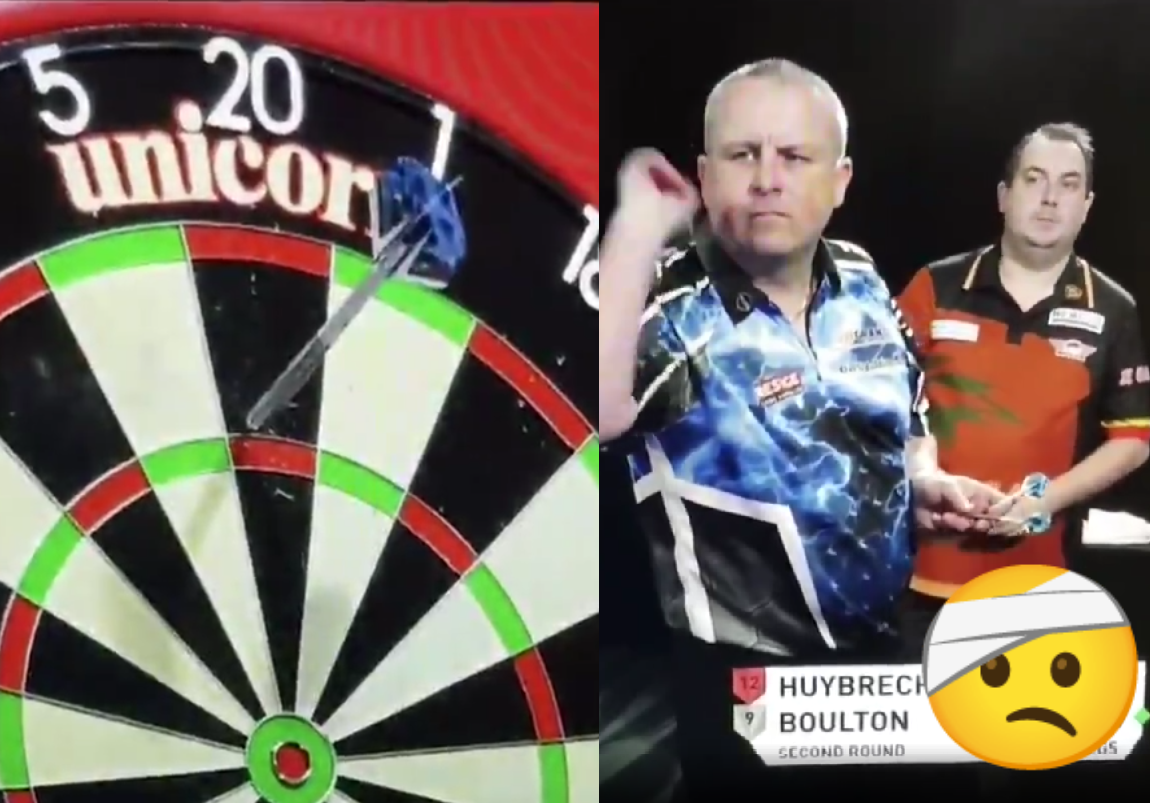 VIDEO: Kim Huybrechts Telling Andy Boulton He Will Not Take Out 167