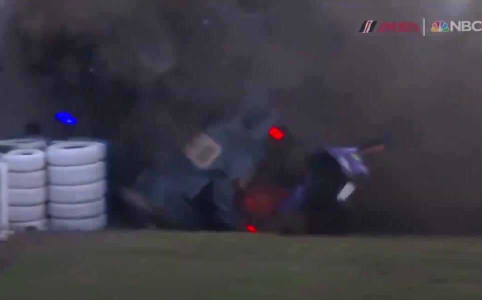 VIDEO: Huge LMP2 Crash During 12 Hours of Sebring