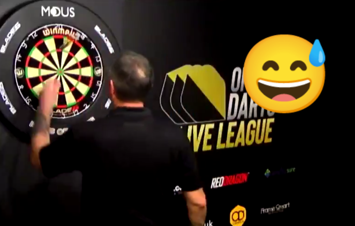 VIDEO: Richie Burnett's Funny Moment During Today's Online League