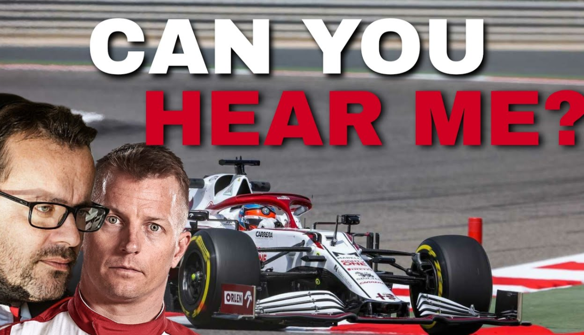 """Raikkonen Funny Team Radio After Crash: """"How Can You Answer Then?!"""""""