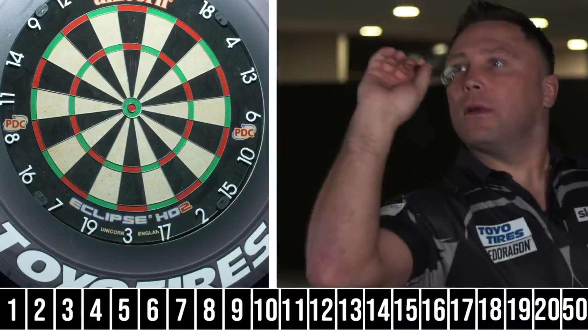 VIDEO: World Champion Gerwyn Price Does The Doubles Challenge