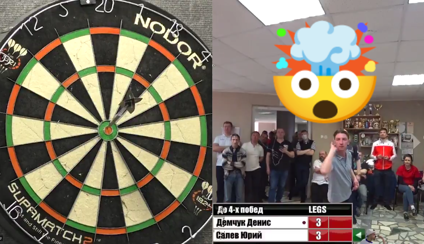 VIDEO: Russian Player Wins Final In Style With This Unique Checkout