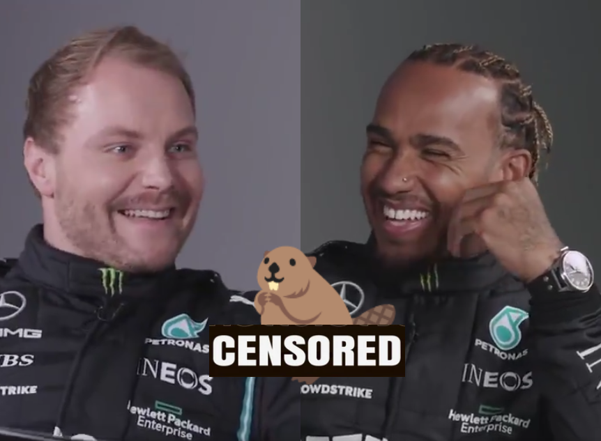 VIDEO: Awkward Moment When Bottas Shares His Knowledge On D*ck Sizes