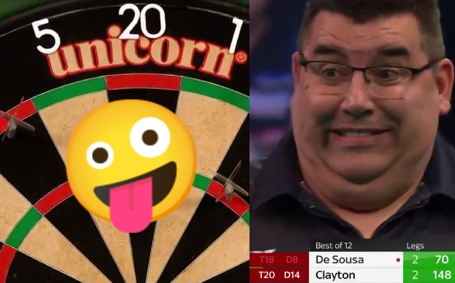 VIDEO: Jose De Sousa Busts 70 Score While He Thought He Had 6 Left