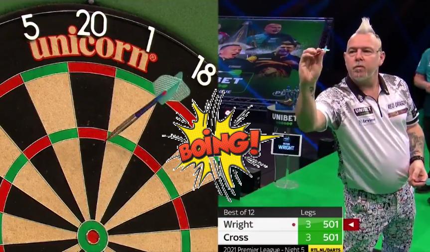 VIDEO: Dutch TV Trolling Peter Wright's Darts in Premier League 🤣
