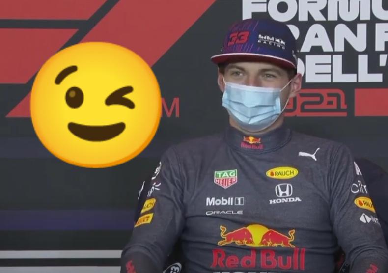 VIDEO: Max Verstappen Joking On Why He Went Off Before Restart