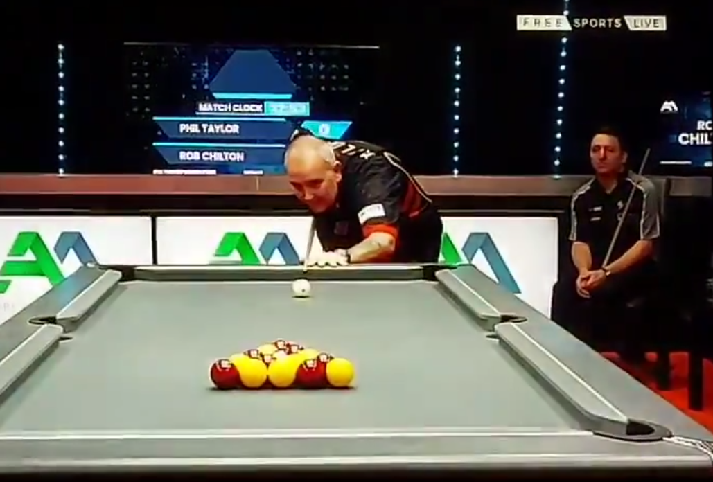 VIDEO: Phil Taylor Attempt In Ultimate Pool Masters Turned Into This FAIL