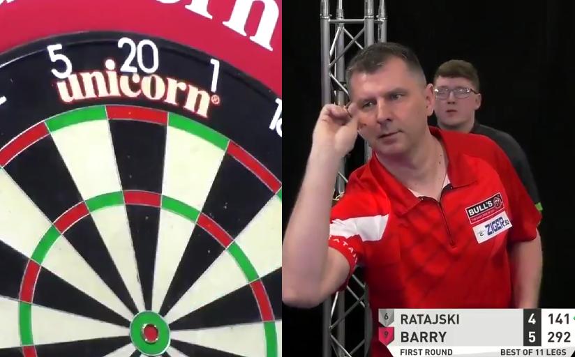 VIDEO: Krzysztof Ratajski Kicks Day 4 Off With A 9-Darts Leg