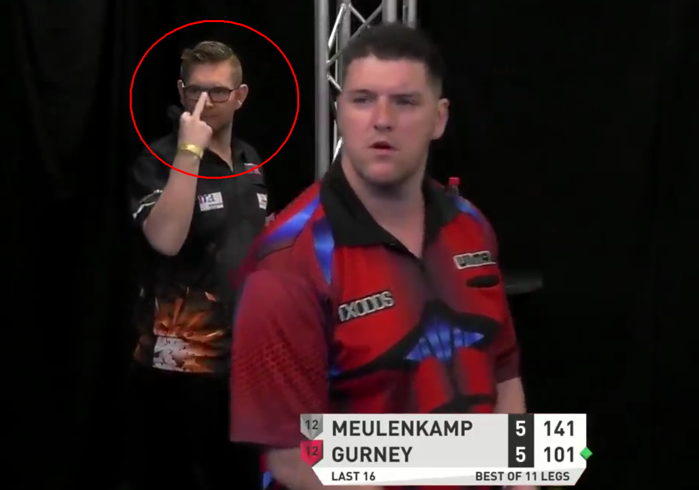 VIDEO: Ron Meulenkamp's Special Message For Daryl Gurney?