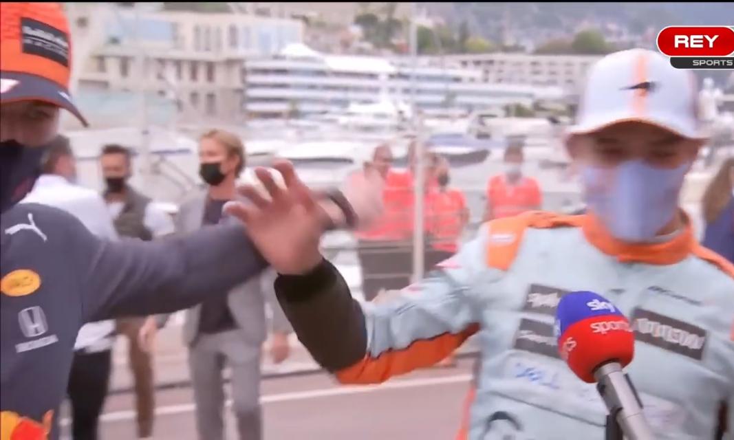 VIDEO: Funny Interview With Max Verstappen & Lando Norris