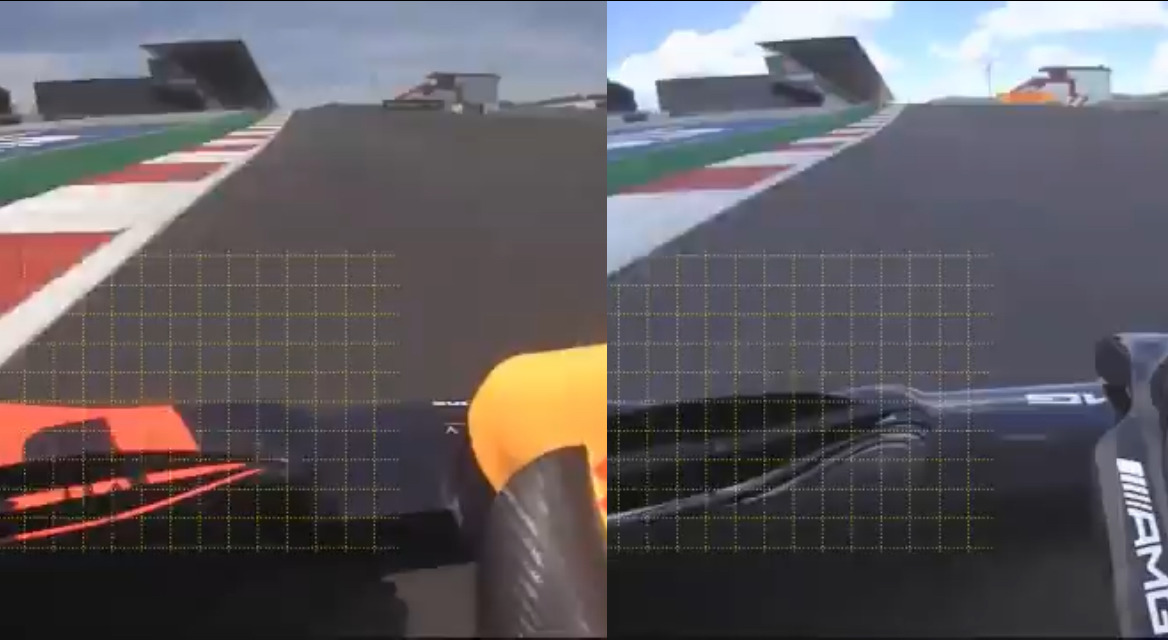 VIDEO: New Video Shows Mercedes vs Red Bull Flexible Front Wings