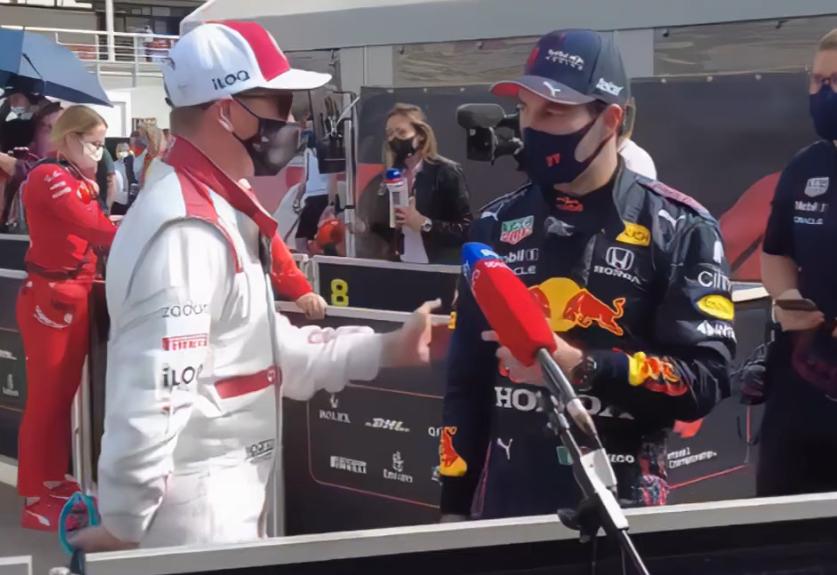 VIDEO: Funny Moment Between Sergio Perez and Kimi Raikkonen In Spain