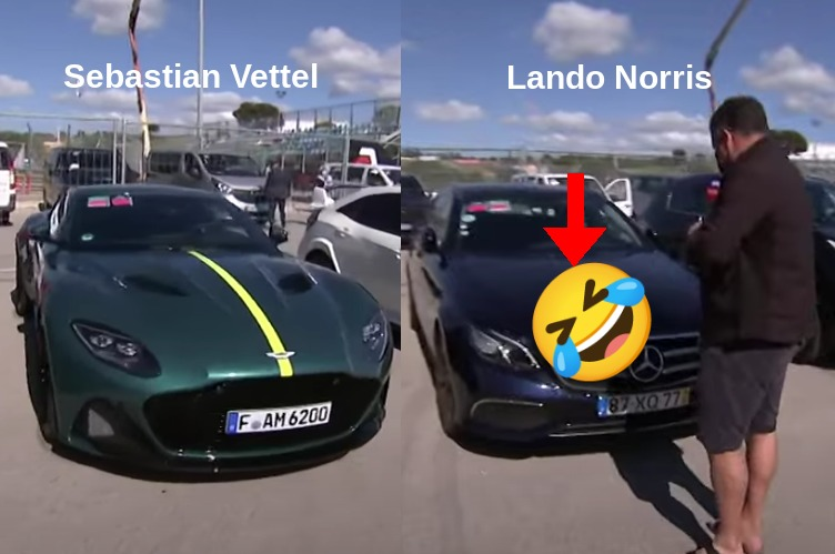 VIDEO: These Are The Cars Formula 1 Drivers Take To Track