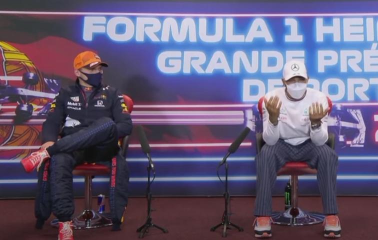 Lewis Hamilton Reflects On Restart When Max Verstappen Overtook Him