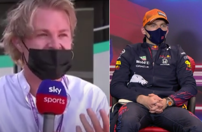 VIDEO: Max Verstappen's Reaction On Comments By Nico Rosberg