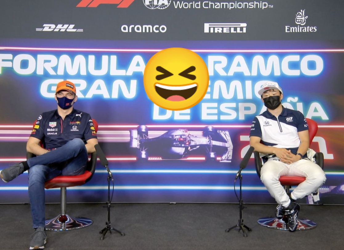 VIDEO: Funny Moment Between Max And Yuki During Press Conference