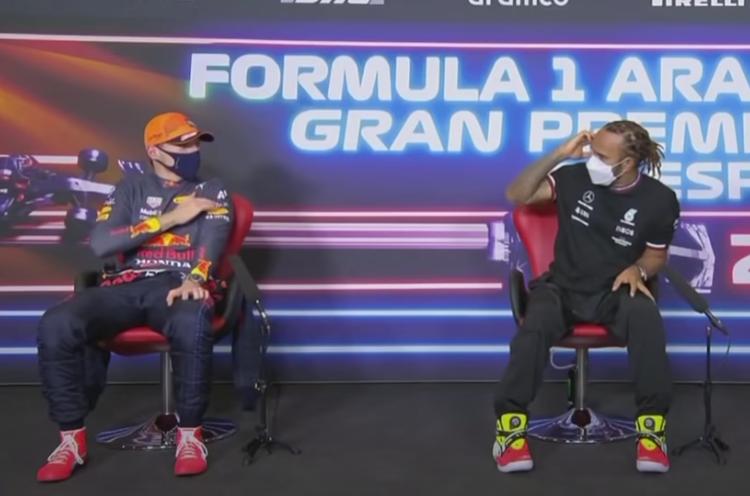 VIDEO: Verstappen Explaining Hamilton What Happend During Qualy