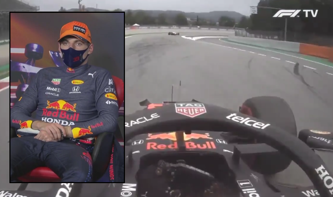 VIDEO: Onboard Footage Verstappen Making Pit Stop Without Being Called