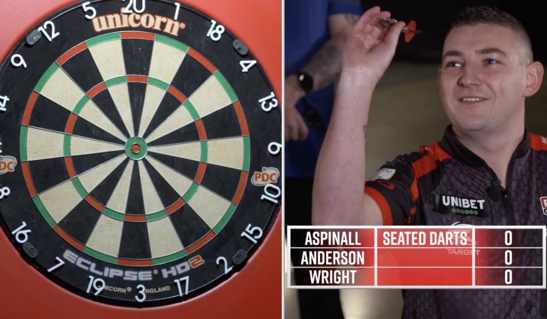 Gary Anderson, Peter Wright And Nathan Aspinall Play Forfeit Darts
