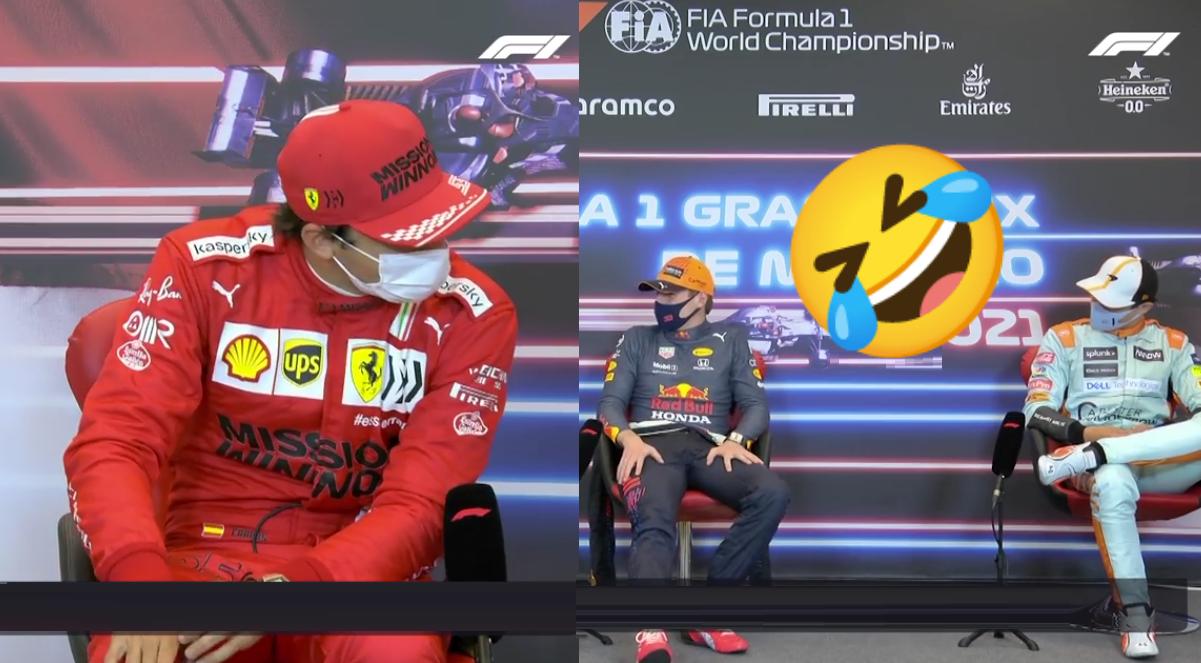 Funny Moment Between Lando Norris & Carlos Sainz After Monaco