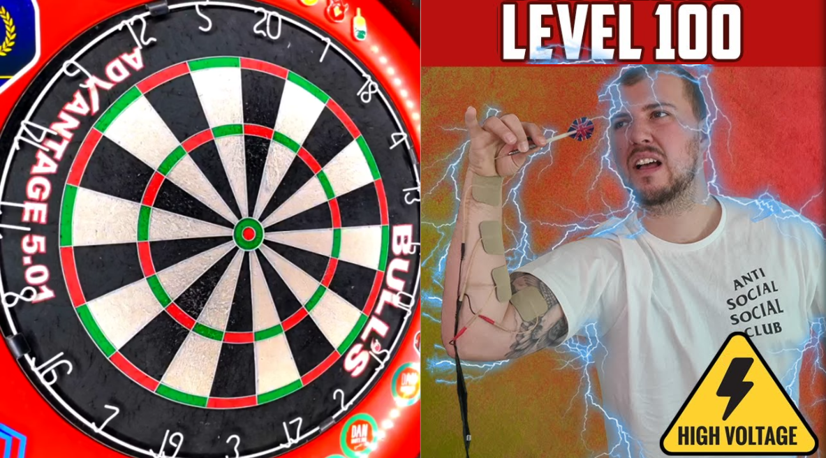 VIDEO: This Guy Plays Game of Darts While Being Electricuted