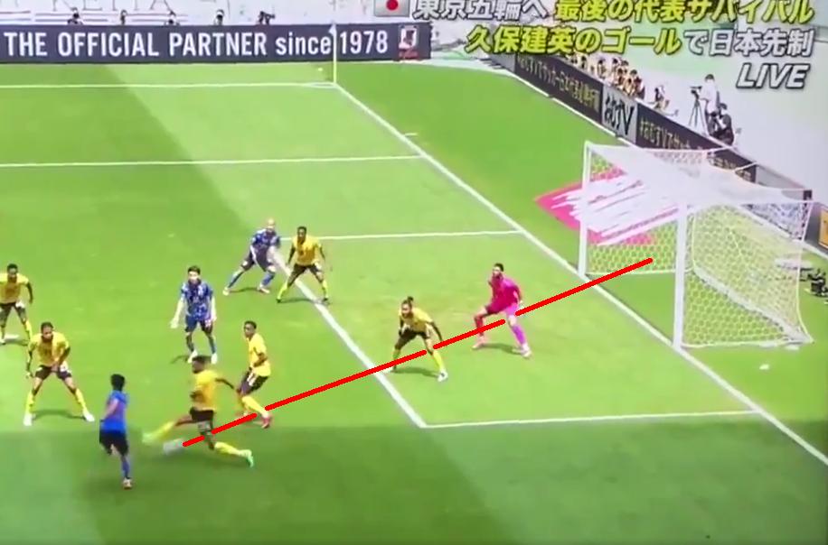 VIDEO: Takefusa's Bizarre 4 Man Panna Goal During Japan vs Jamaica